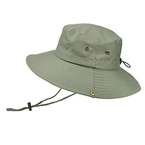 (Weiliru Outdoor Waterproof Boonie Hat Wide Brim Breathable Hunting Fishing Hat Sun Hat)
