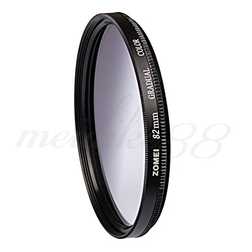 ZOMEI 82mm Graduated Gradual Neutral Density Grey Lens Filter GC for Canon Nikon by ZoMei