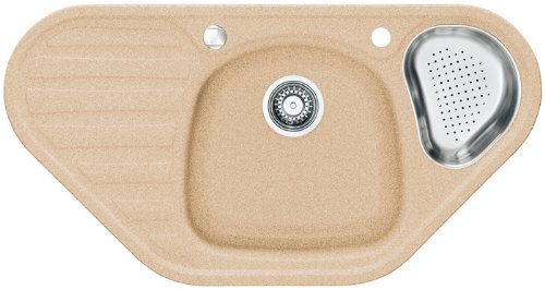 Franke Calypso COG 651-E Sahara Fragranit Küchenspüle Spülbecken Eck Einbauspüle
