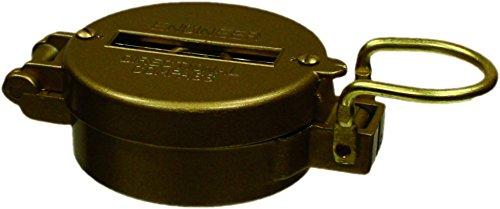 453GLD Red Rock Outdoor Gear Metal Lensatic Compass Emco Supply Inc