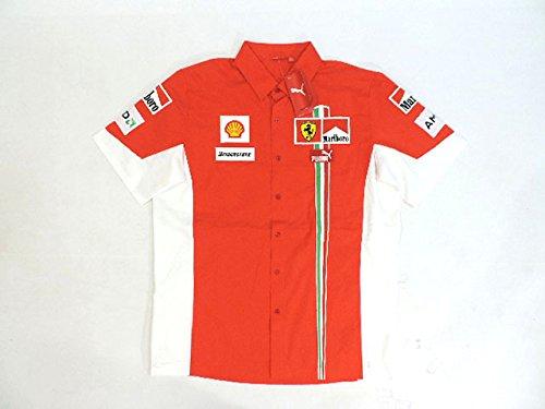 フェラーリ 2007年 支給品 マルボロ版 カスタム版 ストレッチ素材 カスタム版 ピットシャツ ピットシャツ メンズ 2007年 L new 新品 B079MB46X8, ファインペット:92055de1 --- krianta.ru