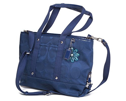 0a165d8b43 ... get coach kyra signature tote navy handbags amazon 7cf5e 7851b