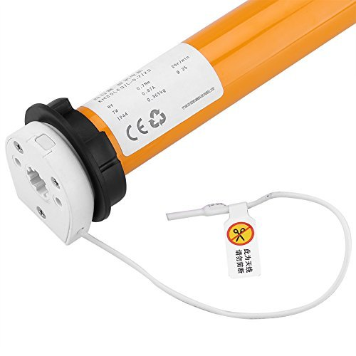 100-240V Rechargeable Wired Tubular Roller Shade Motor Electric Tubular Motor Home Automation System by Yosoo (Image #4)
