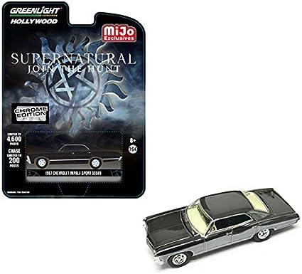 Greenlight 1:64 Supernatural 1967 Chevrolet Impala Sport Chrome Edition 51222