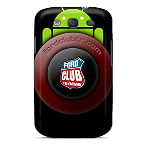 Hard Plastic Galaxy S3 Cases Back Covers,hot Fctr Carbon Cases At Perfect Customized