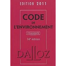 CODE ENVIRONNEMENT 2011 COMMENTÉ