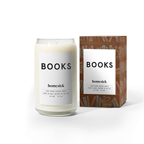 Book-Scented Candle