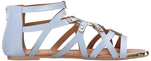 Qupid Women's LANA-402 Gladiator Sandal Ash Blue vqzhCq