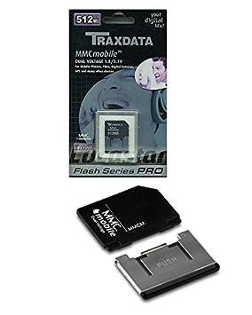 Tarjeta Memoria TRAXDATA MMC Mobile 512 MB: Amazon.es: Electrónica