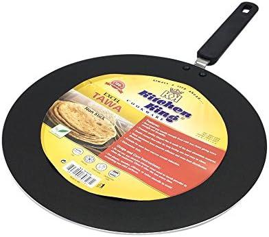 Tava Non Stick Pan Tawa Roti Cooking Kitchen Griddle Pancake 25cm