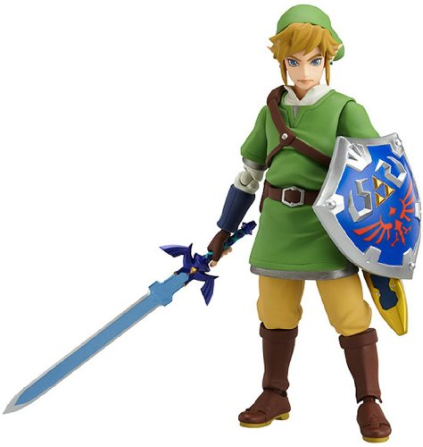 Good Smile The Legend of Zelda: Skyward Sword Link Figma Action Figure(Discontinued by manufacturer)