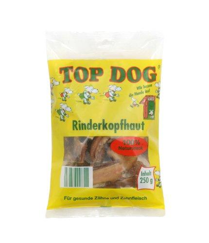 Top Dog deutsche Rinderkopfhaut 250g - Kopfhaut - Rind