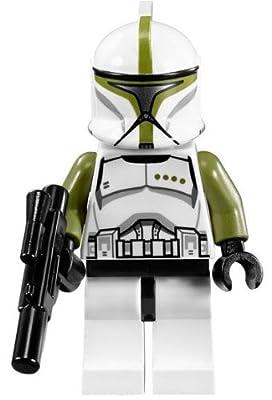 LEGO Star Wars LOOSE Minifigure EPII Clone Commander with Blaster