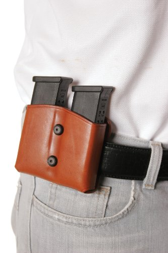 BLACKHAWK! Leather Magazine Pouch (Dual Mag for Double Stacks)