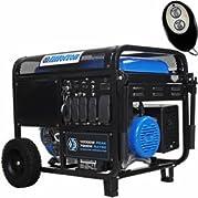 Tillotson TPP-10000G-A - 7500 Watt Electric Start Portable Generator w/ Wireless Remote - TPP-10000G-A