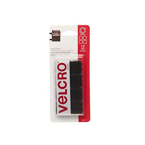 VELCRO Brand - Sticky Back - 7/8 Squares, 12 Sets - - Sticky Squares Back