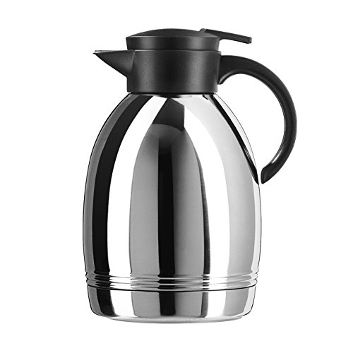 Emsa Konsul Quick-Tip Stainless Steel 61-Ounce Insulated Carafe (Frieling Steel Pitcher)
