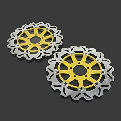 Amazon.com: Motorcycle Brake Disc Float Rotor Stainless ...