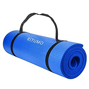 Amazon.com: RITUMO Non-Slip Yoga Mat Eco Friendly Exercise ...