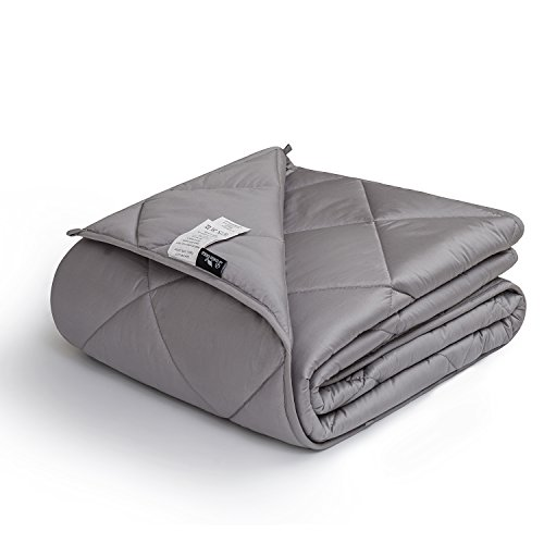 downluxe Weighted Blanket for Adult (15 lbs, 48