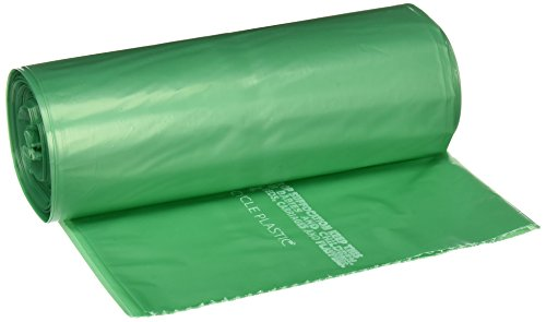 Stout G3340e11 33 Gallon 33  X 40  Heavy Duty Controled Life Cycle Plastic Trash Bags  40 Bags Per Case  Green  Made In America By People Who Are Blind Or Visually Impaired
