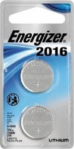 Envirofit Energizer Lithium Coin Watch/Electronic Battery 2016, 2 Count