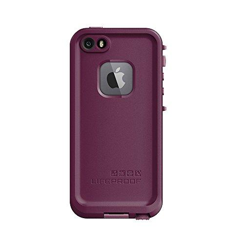NEW LifeProof FRĒ SERIES Waterproof Case for iPhone 5/5s/SE - Retail Packaging - CRUSHED (STOMP PURPLE/PADDLE PURPLE/SKYFLY BLUE)