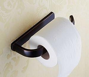 Amazoncom elloallo oil rubbed bronze toilet paper for Non rust bathroom accessories