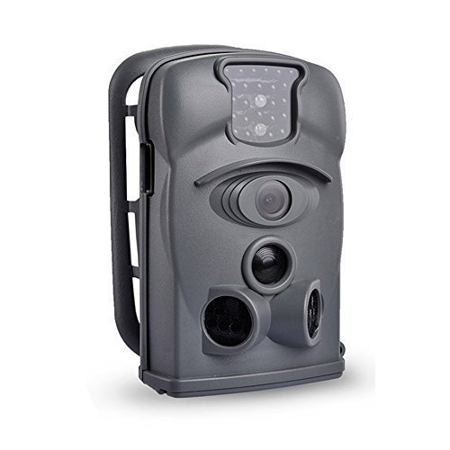 SUNLUXY® Ltl-8210A Cámara de Caza 12MP Videocámara Sensor CMOS IR-Cut Cámara de Vigilancia 24LESs IR Visión Nocturna para Fauna Salvaje al Aire ...