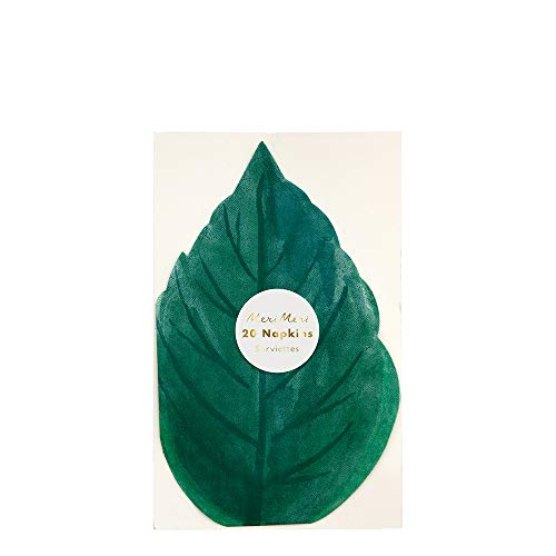 Meri Meri Rose Garden Leaf Napkins