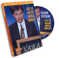 Price comparison product image Easy to Master Mental Miracles R Osterlind and LL 3 DVD