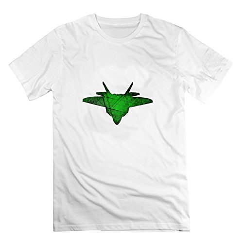 Men F22 Raptor Jungle Camo C White Customizable Cool Cool T-shirt Shirts Xx-large