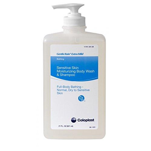 (Coloplast Gentle Rain Extra Mild Shampoo Hair Body 21Oz Hypoallergenic 1/ea 7233)