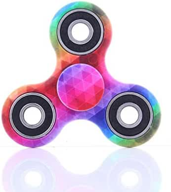 LED Light Fidget Hand Spinner Torqbar Finger Toy EDC Focus Gyro Fast Shipping