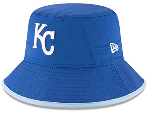 New Era Authentic MLB 2019 Clubhouse Collection Bucket Hat Stretch Fit : One Size Fit Most (Kansas City Royals) -