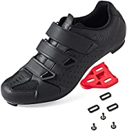 Men's Women's Cycling Shoes Road Bike Shoes with Look Delta Cleat for Lock Pedal Spin Shoes for Road Peloton I
