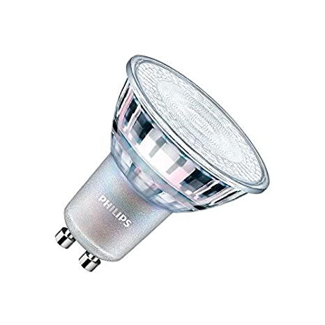 Bombilla LED GU10 Regulable CorePro MAS spotVLE 4.9W 60° Blanco Cálido 2700K efectoLED: Amazon.es: Iluminación