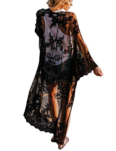 Bikini Cover up Women Boho Beach Wears for Summer Holiday Vocation one size 10521