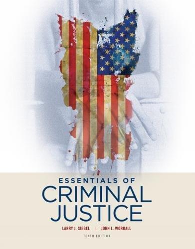 Essentials of Criminal Justice PDF
