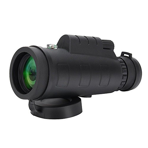 Tsumbay 40x60 Compact Monocular Telescope High Power Monocular Scope Waterproof for Bird Watching, Wildlife Portable HD Spotting Scopes with Compass