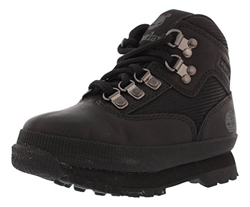 r Leather and Fabric Boot (Toddler/Little Kid/Big Kid),Black,5 M US Toddler ()
