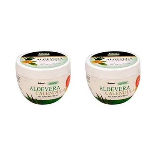 """2 Lot X Bakson's Homeopathy - Sunny Aloevera Calendula Cream.(pack of 2)- """"Expedited International Delivery by USPS / FedEx """""""