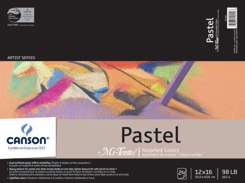 Mi-Teintes Pastel Pad 12X16 Assorted ()