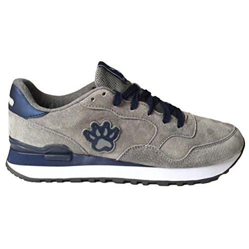 Classic Uomo Collo Sneaker Grigio Corsa Vogstyle Basso Da A Scarpe 7Owdny5q