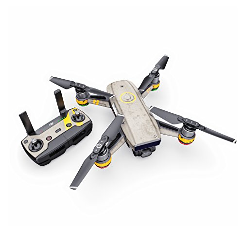 Dystopia Decal for Drone DJI Spark Kit - Includes Drone Skin, Controller Skin and 1 Battery Skin from DecalGirl