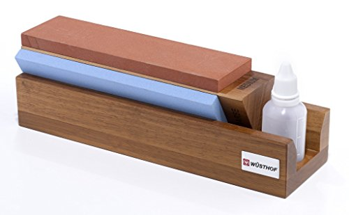 W%C3%BCsthof Tri Stone Sharpener Medium Coarse product image