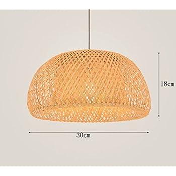Amazon ikea sinnerlig pendant lamp bamboo 16285172142 home lin xiao hao mayu simple chandelier nordic restaurant lights led bamboo art rattan weaving pendant lamps aloadofball Images