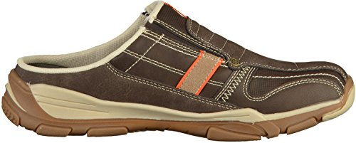 Dockers 42HY002 Mens Brown Tones Synthetic Clogs, 9 UK