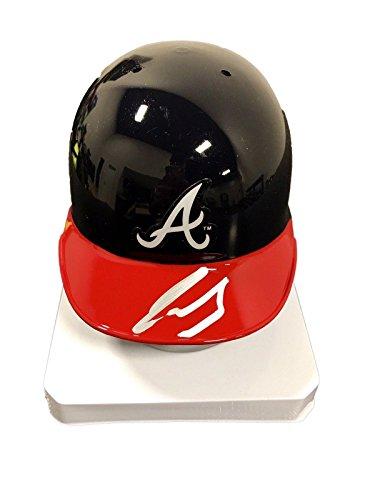 Ronald Acuna Atlanta Braves Signed Mini Batting Helmet S63575 - JSA Certified - Autographed MLB Mini Helmets