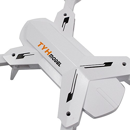 TY-T5 Altitude Hold HD Camera 2.0MP WIFI FPV RC Quadcopter Drone Foldable Practical Dreamyth (White) by Dreamyth